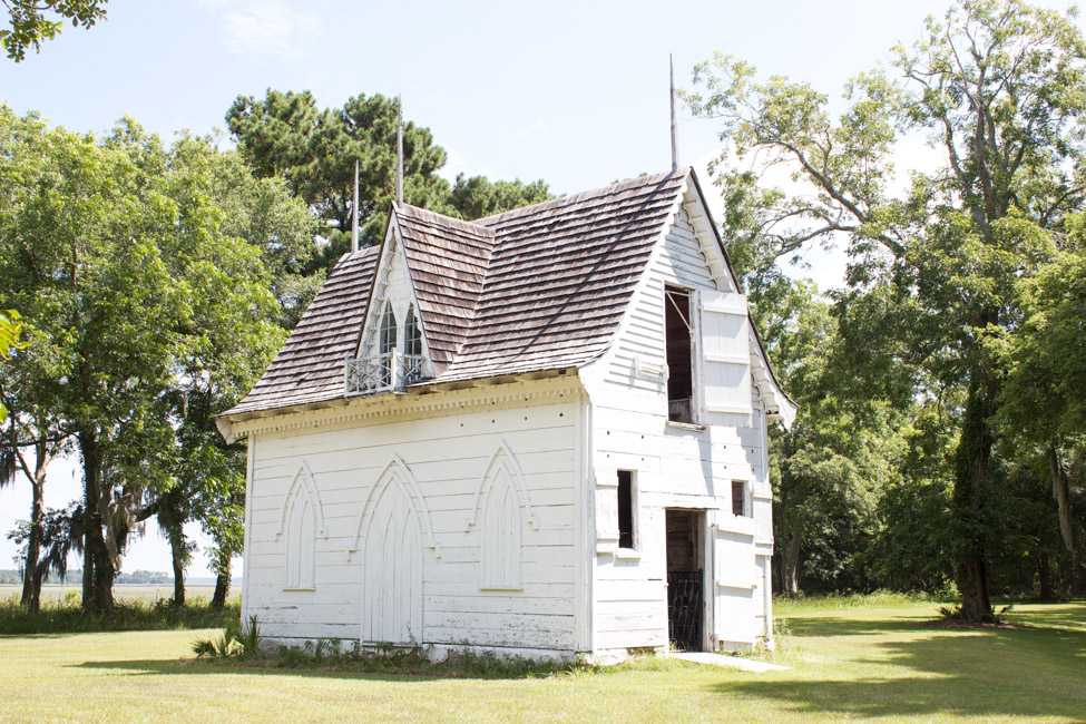 The old Bleak Hall Plantation Ice House at Botany Bay in Edisto Island, SC, is stunning!