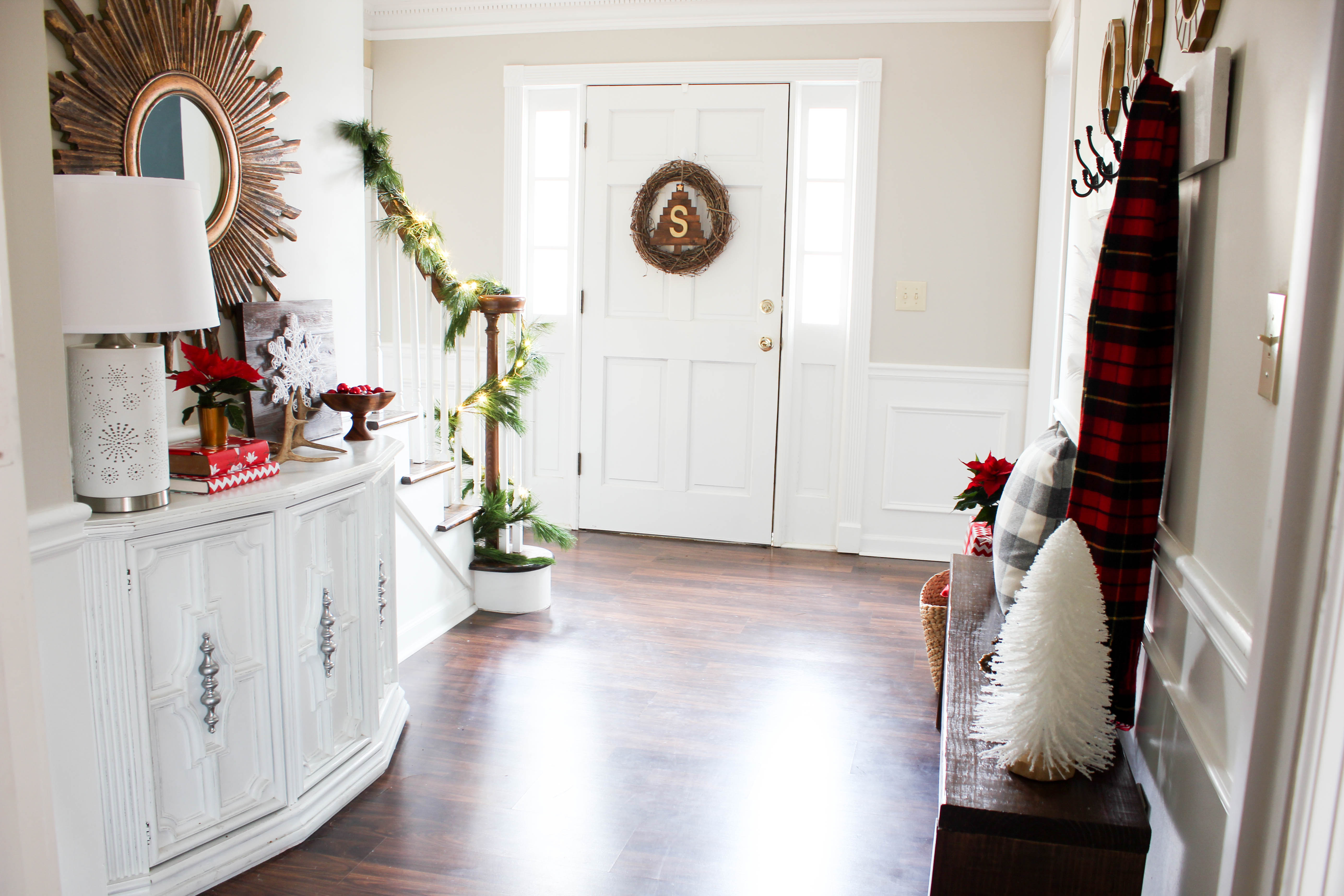 Home for the Holidays Design Challenge: Entryway Reveal! - Erin Spain