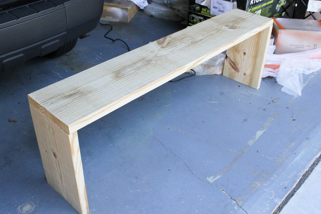 Used Foyer Bench : Entryway bench plans tutorial erin spain