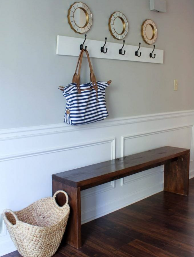 12 DIY Ideas for Laundry Rooms, Entryways, & Mudrooms