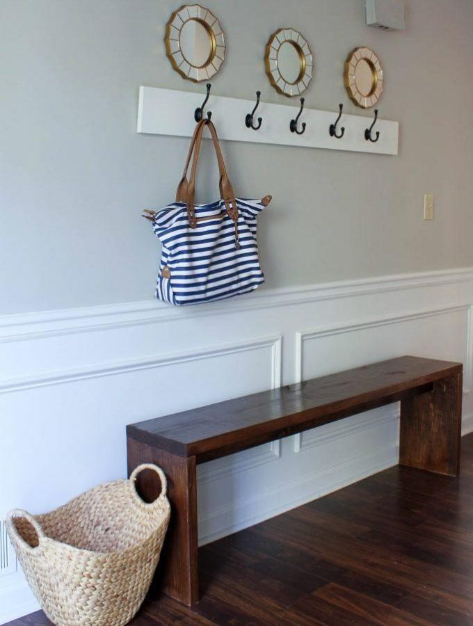 12 DIY Ideas for Laundry Rooms, Entryways, & Mudrooms