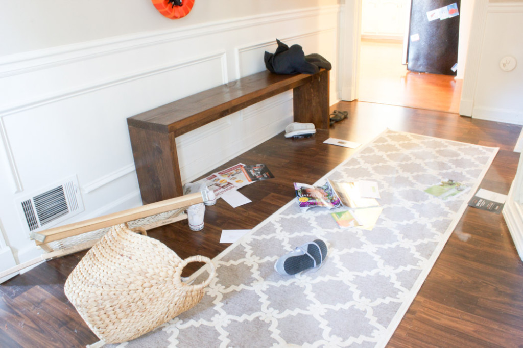 "Fall Home Tour: Behind the scenes aka ""the mess"""