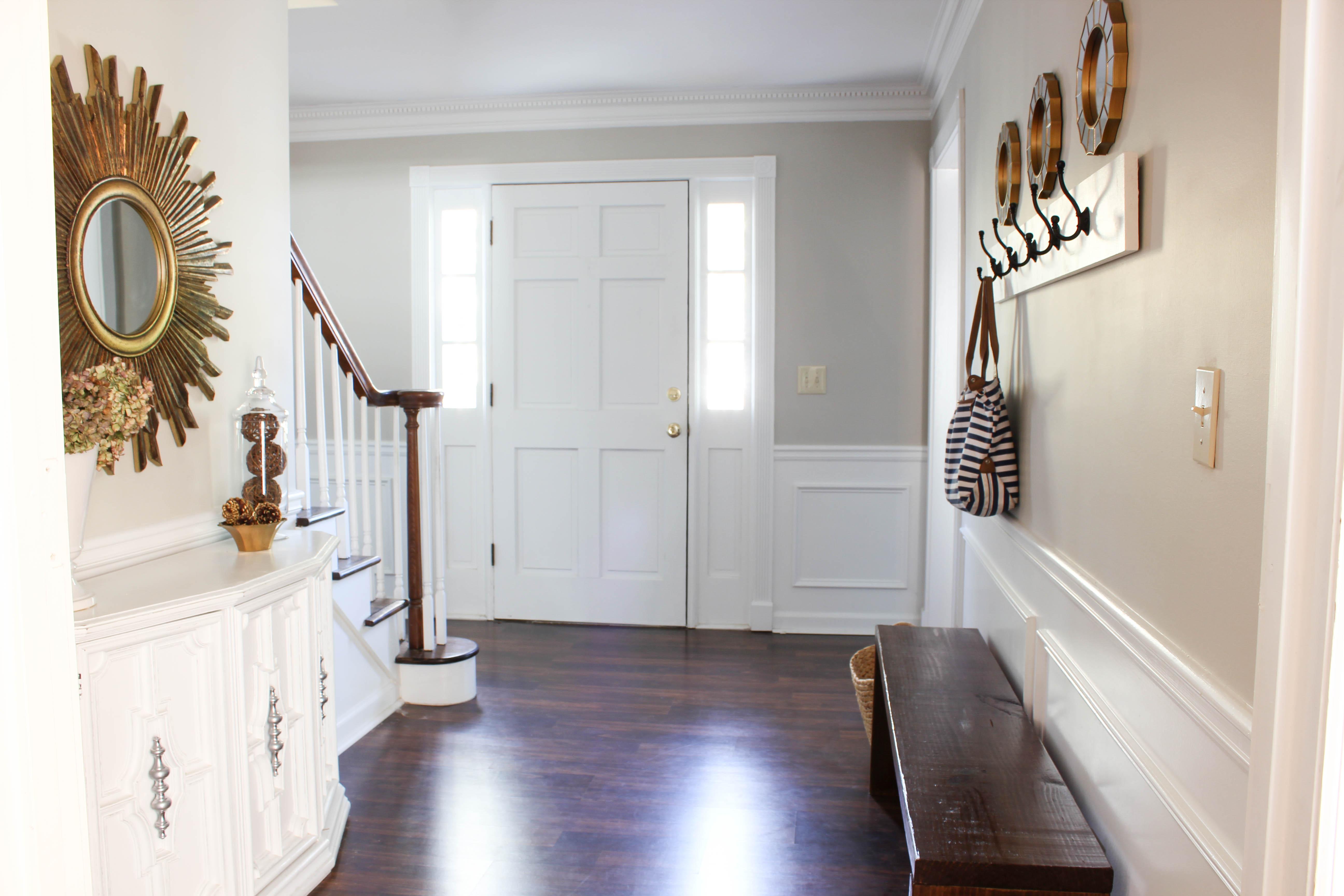 entryway makeover - erin spain
