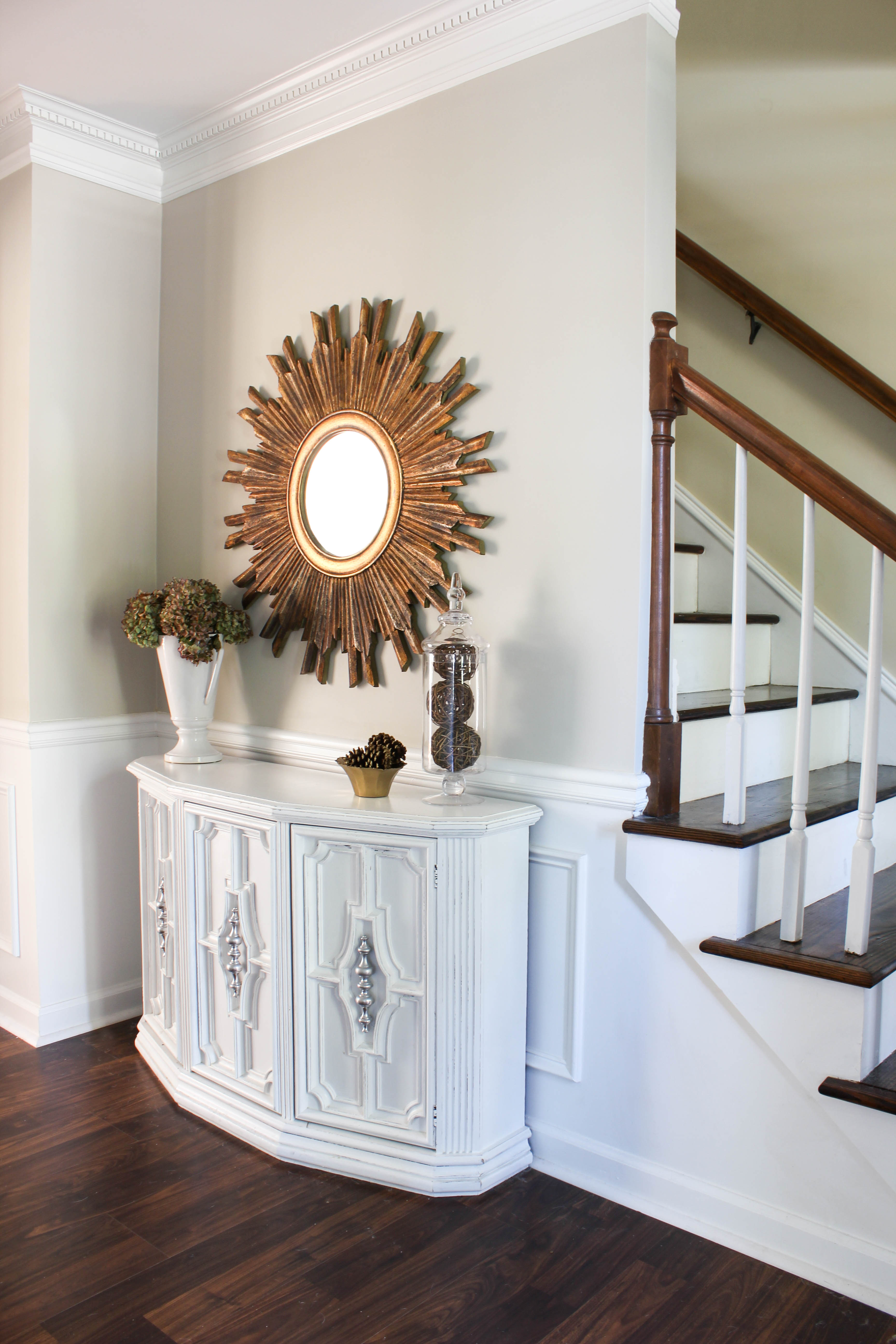 Small Foyer Makeovers : Entryway makeover erin spain
