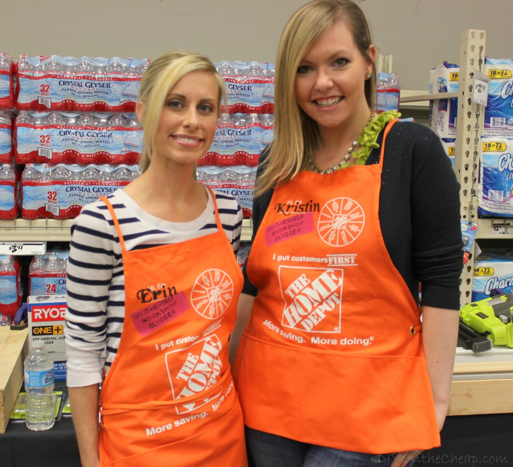 DIY on the Cheap: 2013 Year In Review - Home Depot DIH Workshop