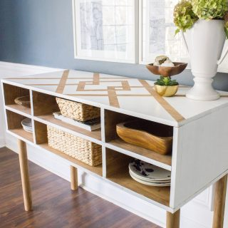 Learn how to build this dining room buffet! This is version 1, and version 2 will have a welded metal base.