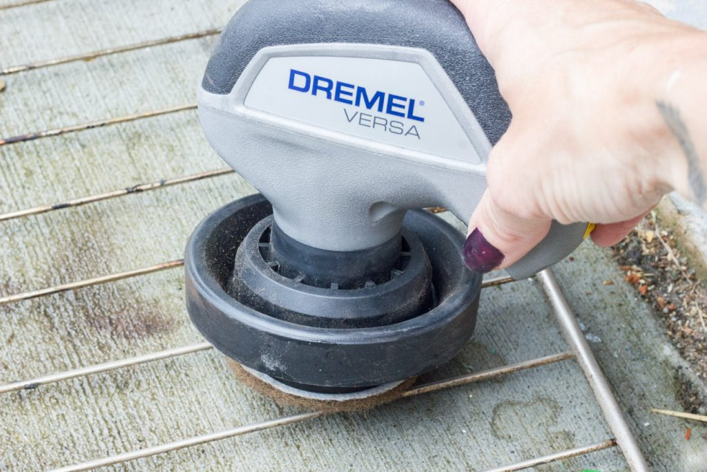 This Dremel Versa Power Cleaner is AMAZING! Super versatile and compact, and makes cleaning dirt and grime so much easier.