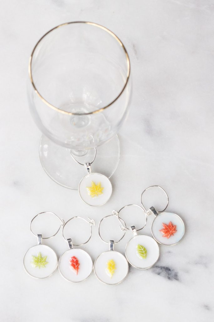 Learn how to make these DIY Thanksgiving Wine Glass Charms!