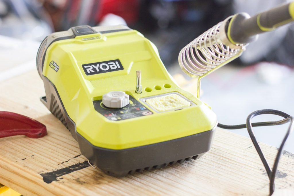 I repaired some jewelry with the RYOBI soldering station! If you're looking for a soldering iron, this one is awesome.