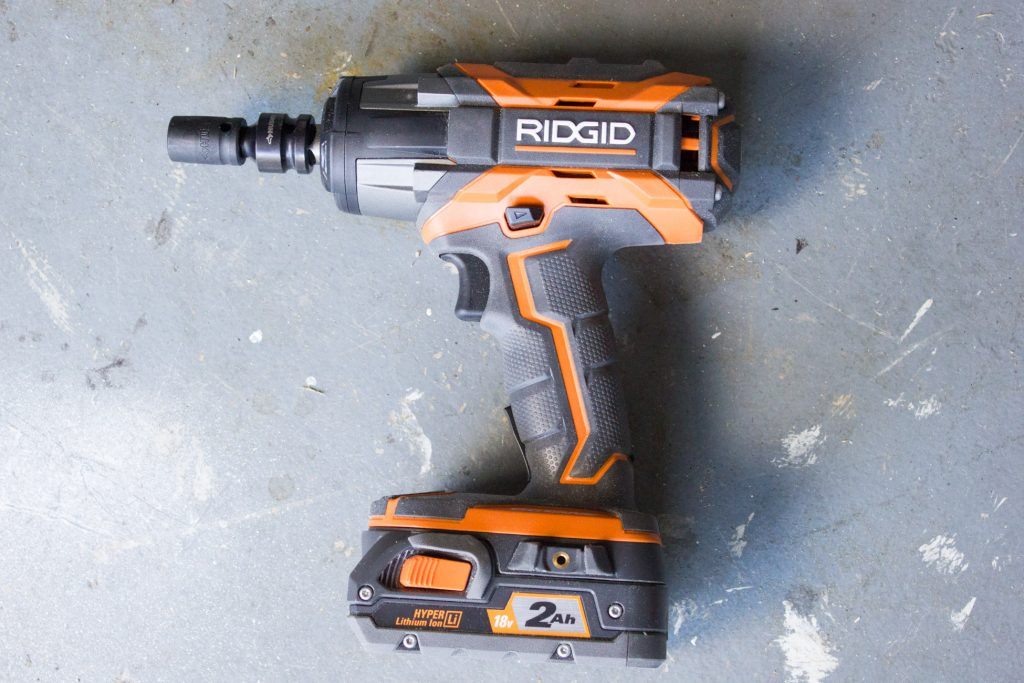 I used my new RIDGID impact wrench to tighten some loose bolts on my welding table. Find out all about this awesome tool in this blog post!