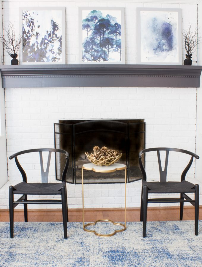 Seasonal Simplicity Fall Home Tour: Family Room
