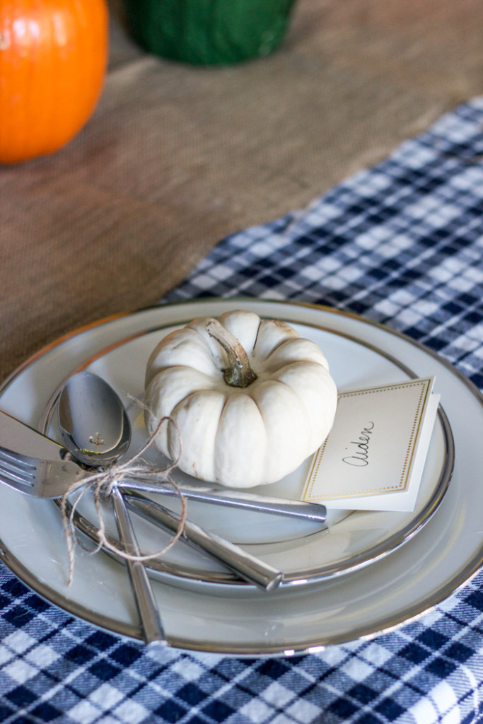 Fall Home Tour: Tablescape