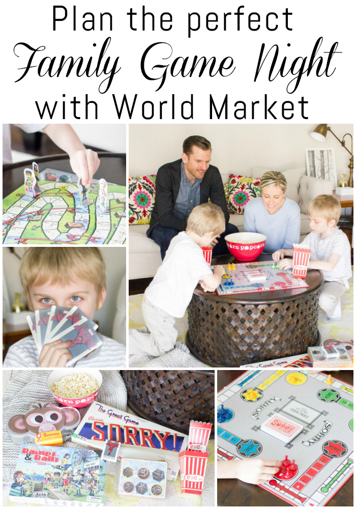 I had no idea that World Market sells board games! I'm definitely planning a fun family game night SOON!