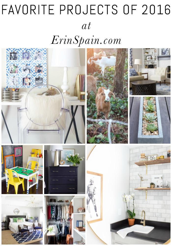 Loving this recap of favorite projects from ErinSpain.com! My favorites are number 1 and number 10.