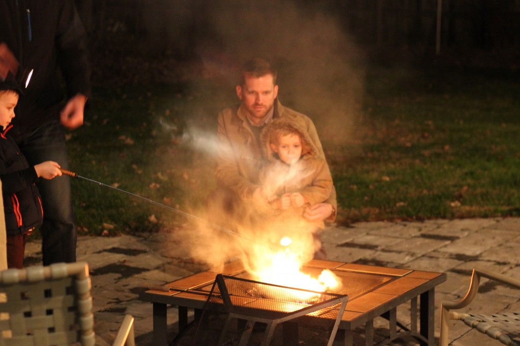 S'mores and firepit fun