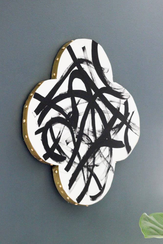 Quatrefoil Abstract Wall Art