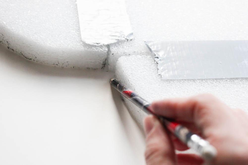 DIY Quatrefoil Abstract Wall Art