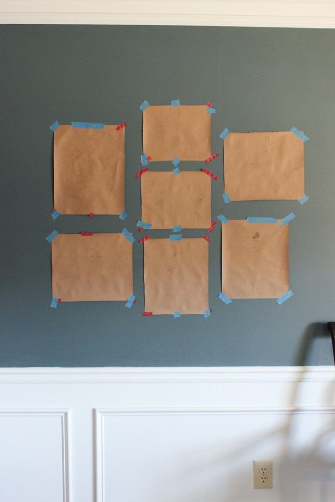 Easy Method for Creating a Gallery Wall