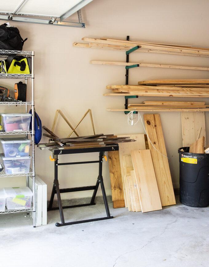 Garage Workshop Organization: Before & After