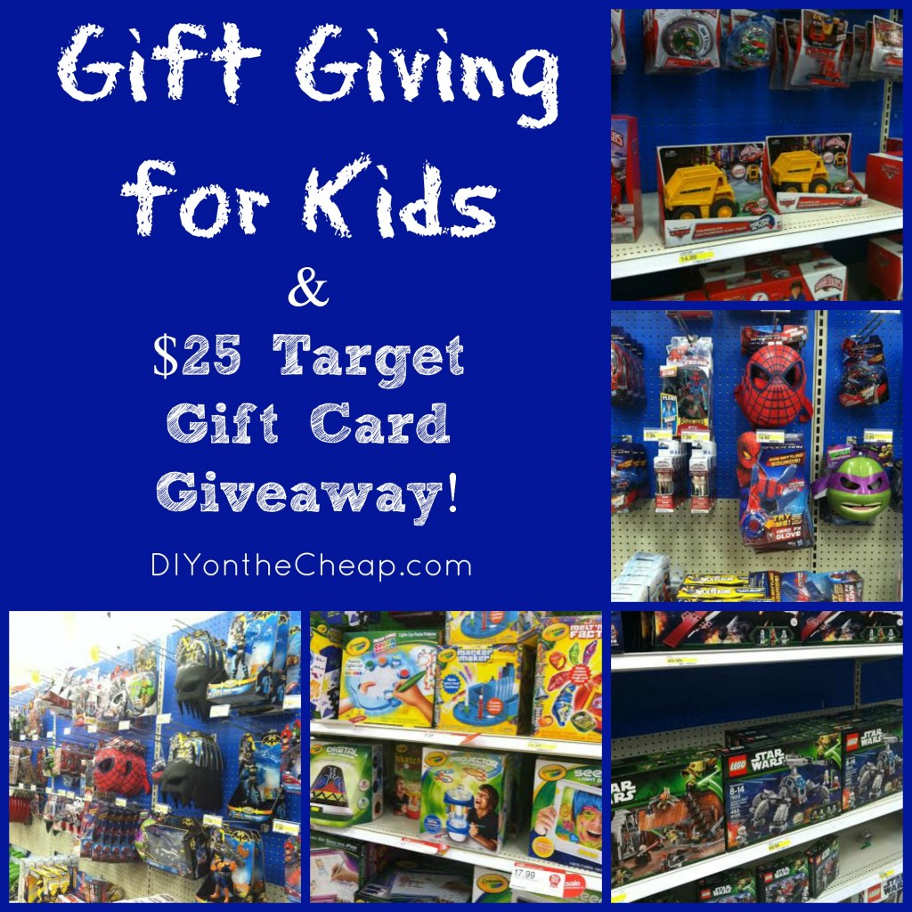Gift Giving for Kids & $25 Target Gift Card Giveaway! #MyKindOfHoliday