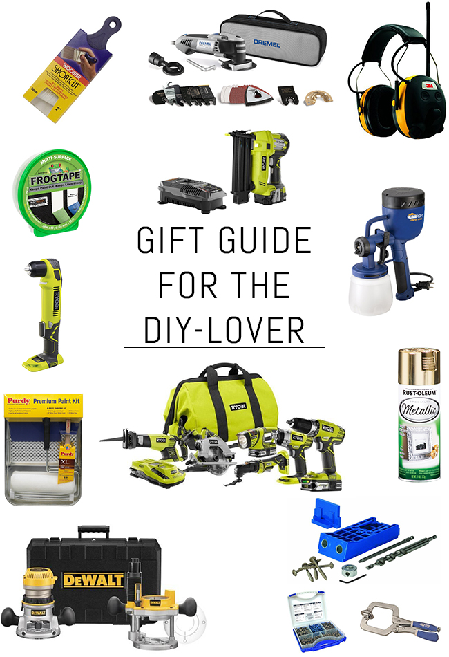 Holiday Gift Guide for the DIY-Lover