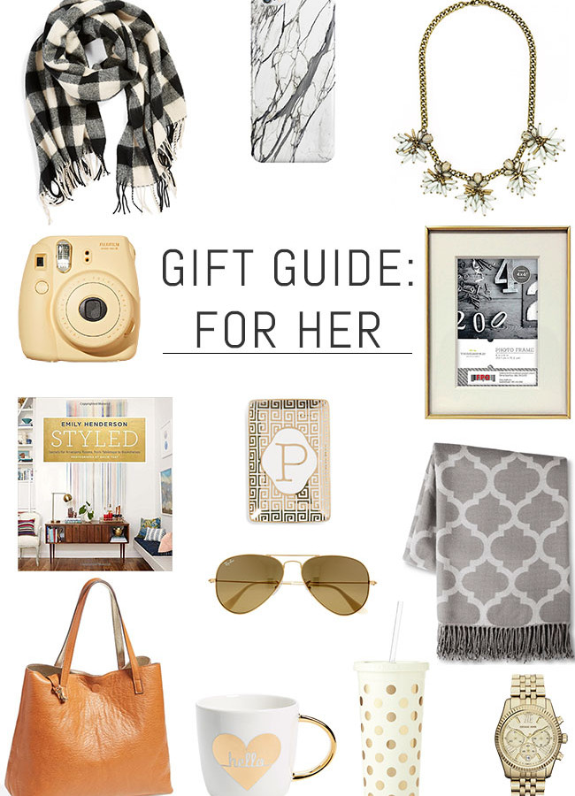 His & Hers Holiday Gift Guide