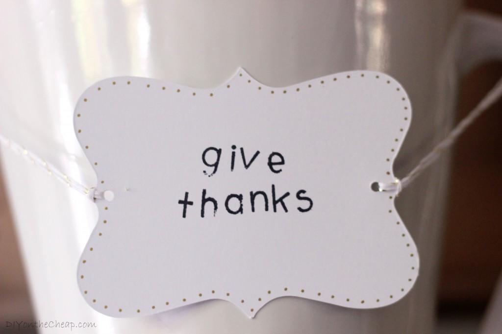 Make a Thanksgiving Tree: Tutorial via DIYontheCheap.com