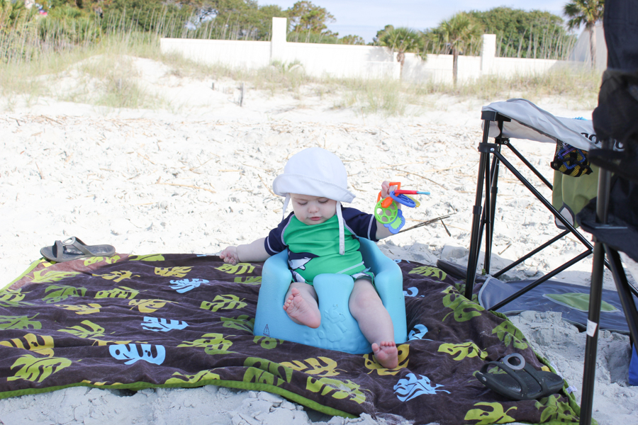 Our Hilton Head vacation + Tips for traveling to the beach with babies/kids.