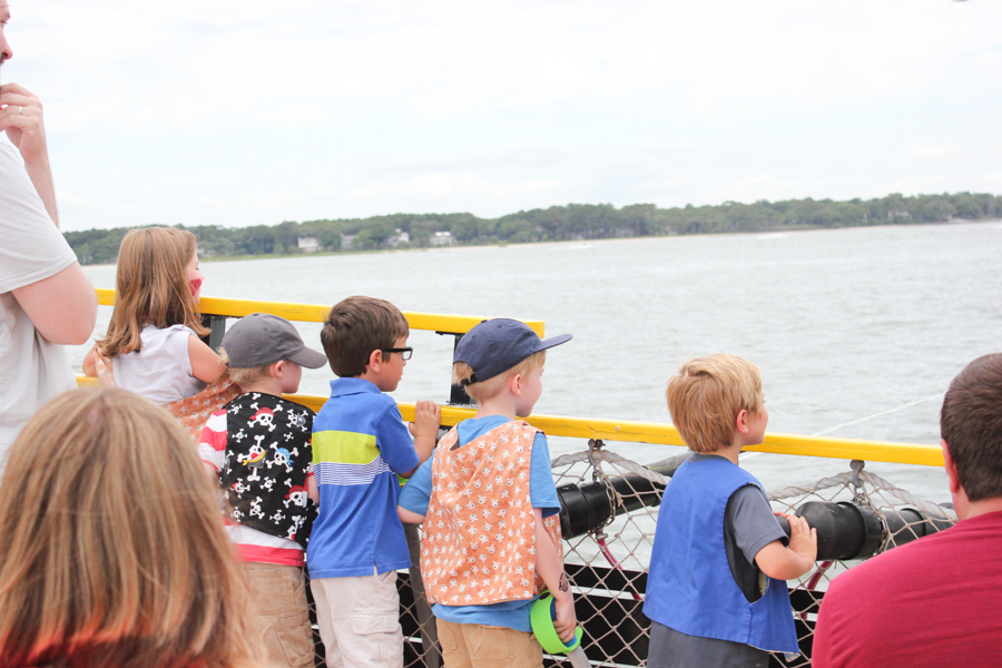 Pirates of Hilton Head - a fun pirate cruise for kids of all ages!