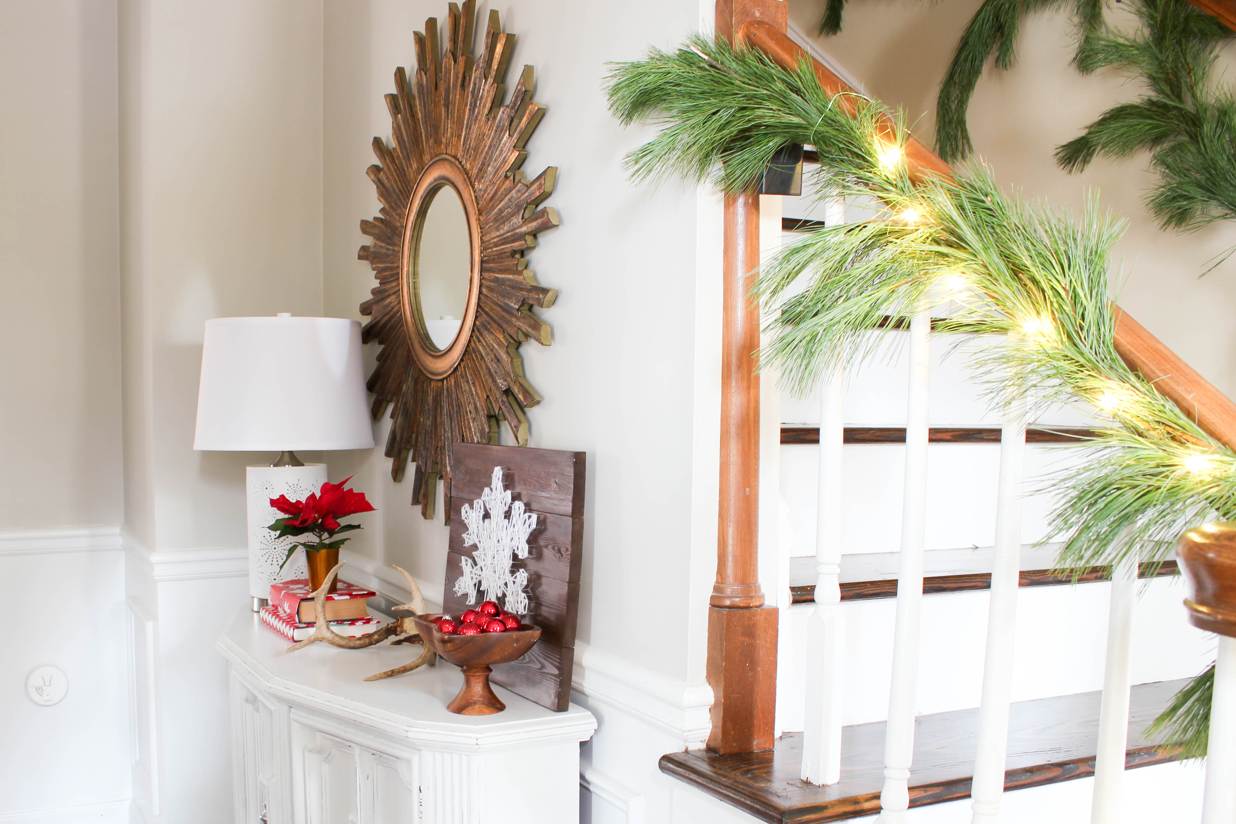 home for the holidays design challenge entryway reveal erin spain home for the holidays design challenge entryway reveal