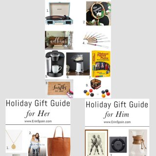 These holiday gift guides feature gift ideas for men, women, and families! Take the guesswork out of holiday shopping. We've got you covered!