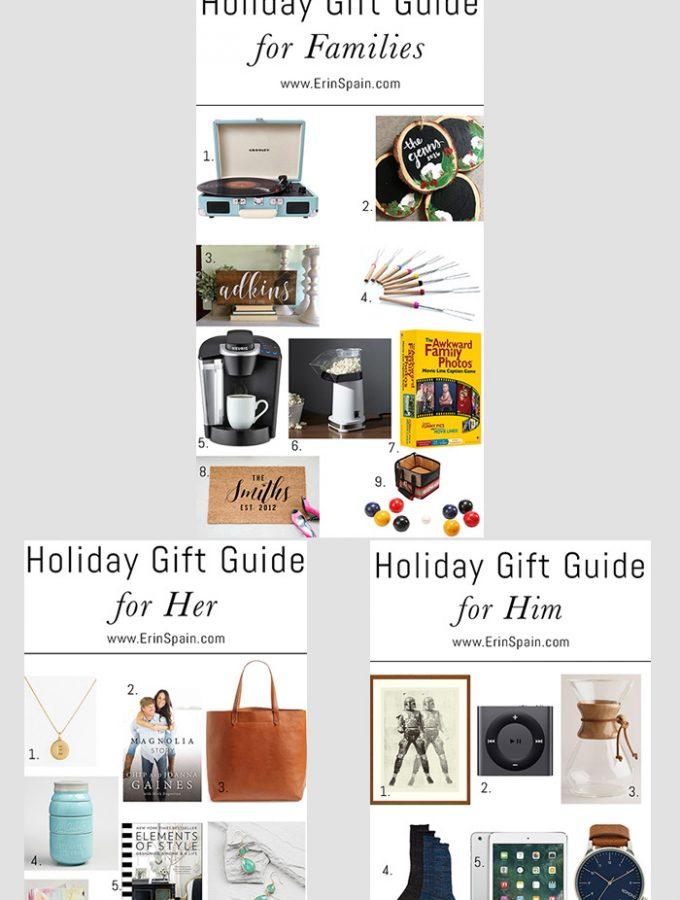 Holiday Gift Guide for 2016