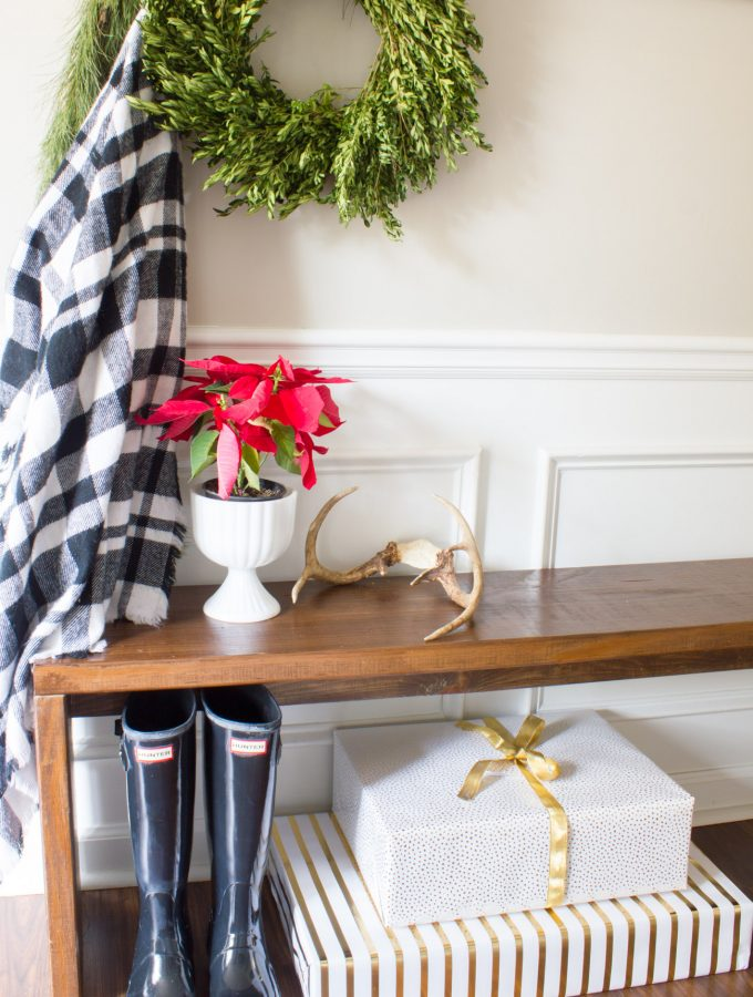Our Christmas Porch & Entryway {Welcome Home Blog Tour}