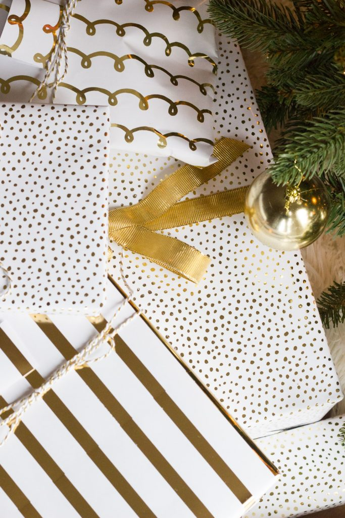 This Sugar Paper gift wrap is so pretty! Love all of the different patterns.