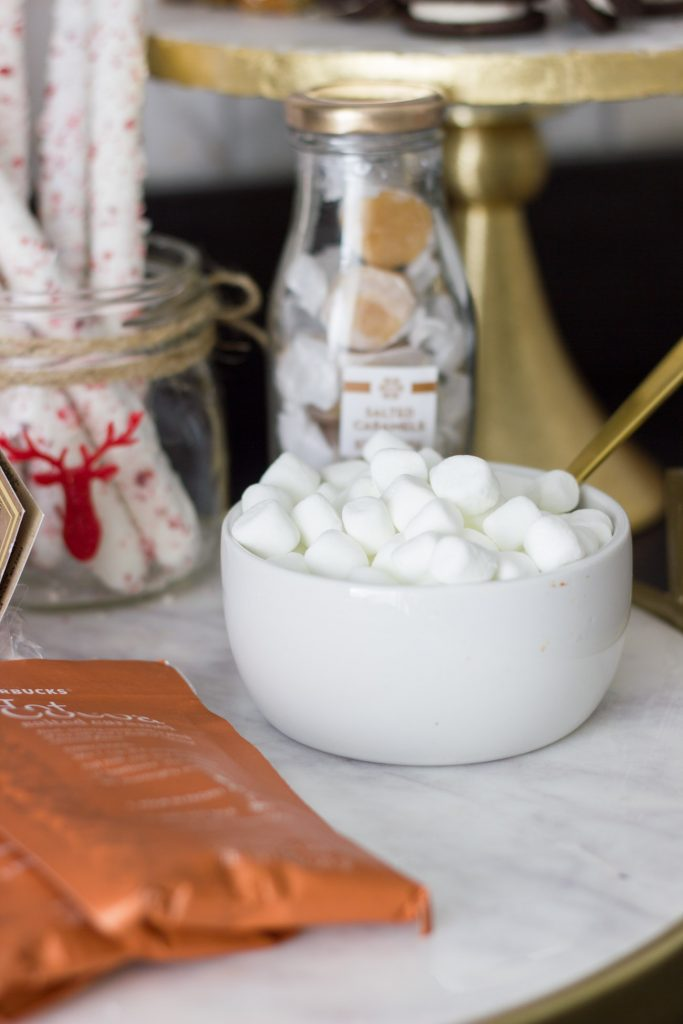 These hot chocolate bar ideas are perfect for a holiday party, or for any home just for fun!