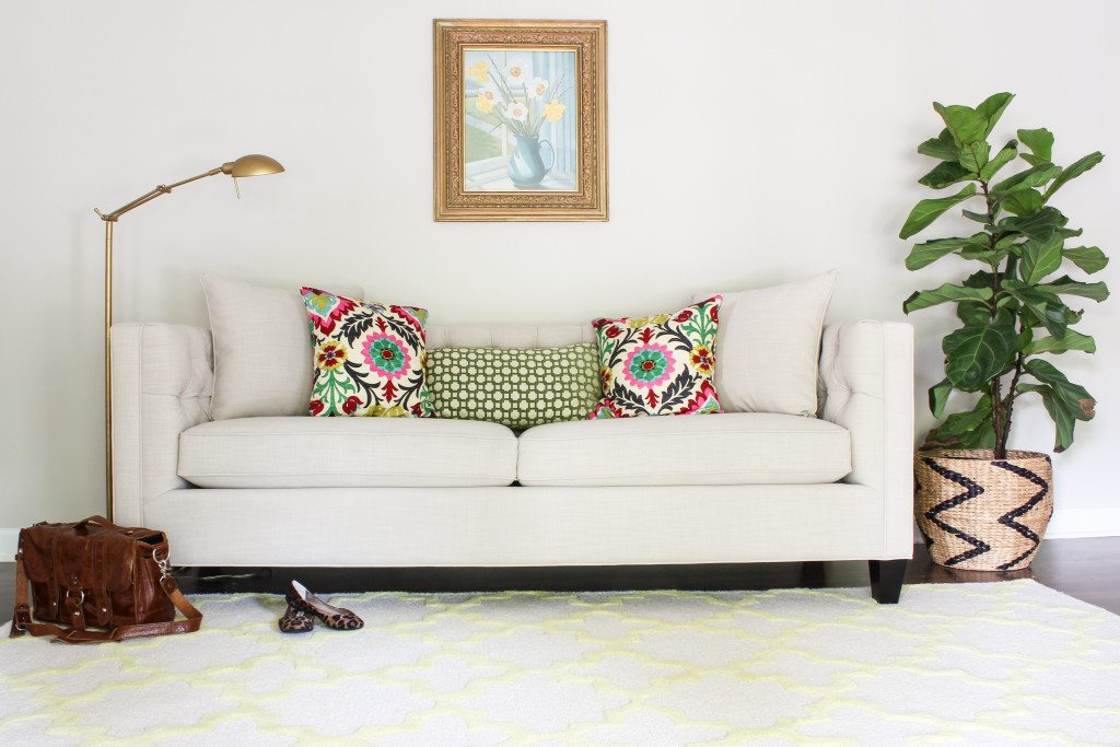 Home Decorators Collection Lakewood Tufted Sofa