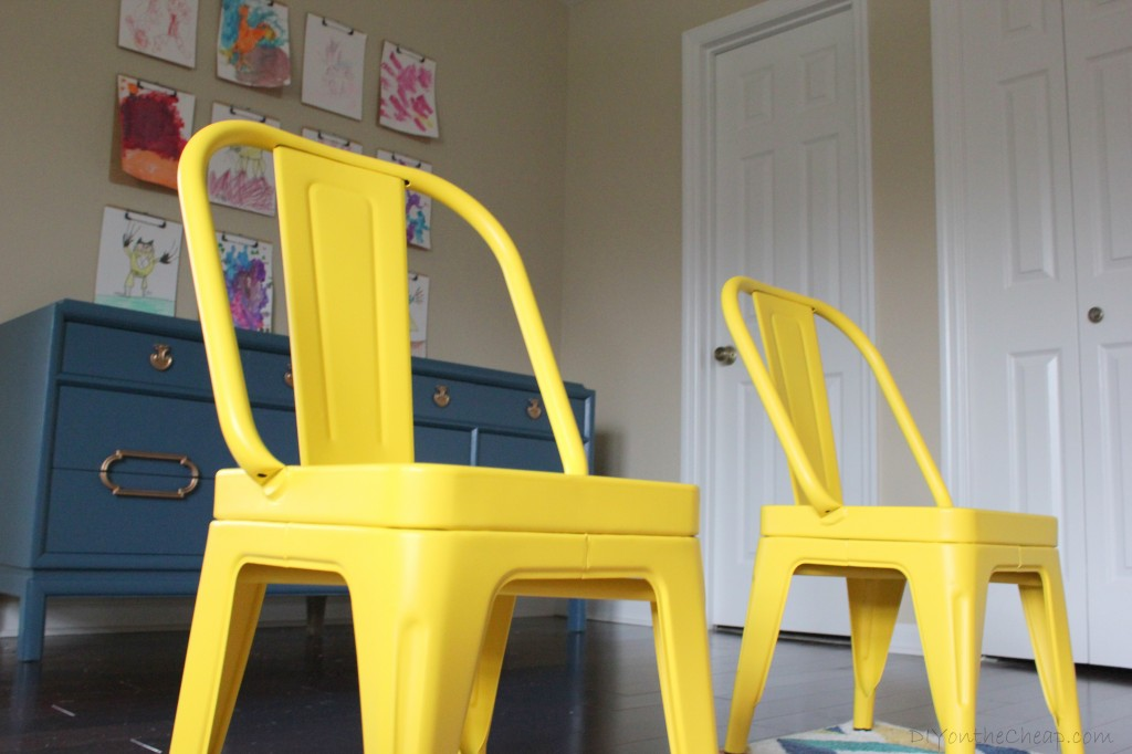 Playroom featuring Little Garden Chairs from Home Decorators Collection.