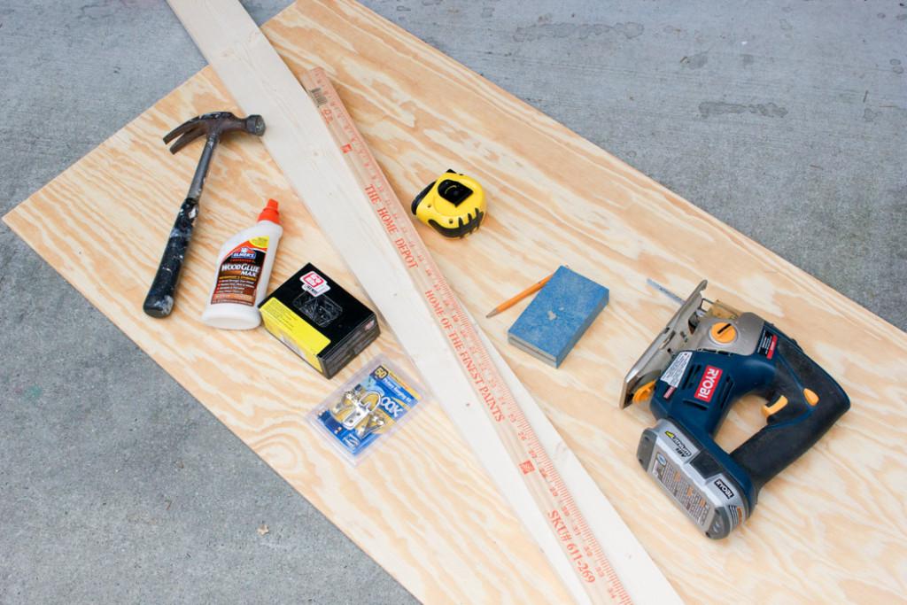 Make a DIY Wooden Stocking Hanger!