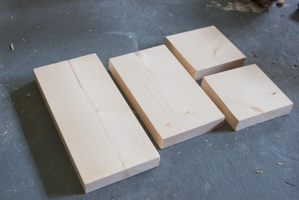 Make a DIY Wooden Stocking Door Hanger!