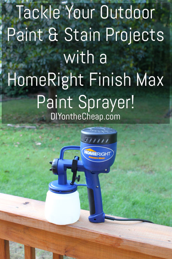 Sprucing Up Outdoors Homeright Finish Max Giveaway Erin