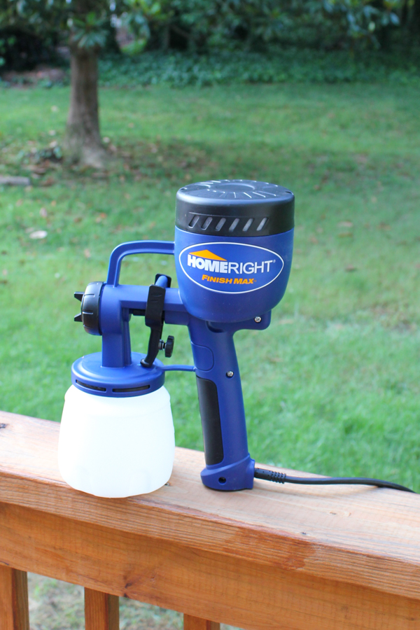Sprucing Up Outdoors & HomeRight Finish Max Giveaway!