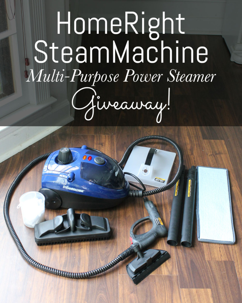 Enter to win a HomeRight SteamMachine via DIYontheCheap.com!