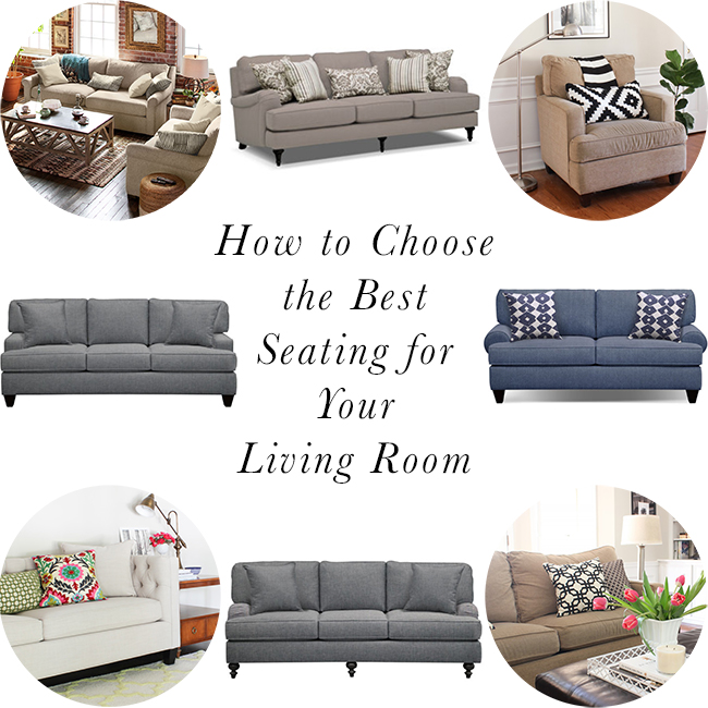 How To Choose The Best Seating For Your Living Room