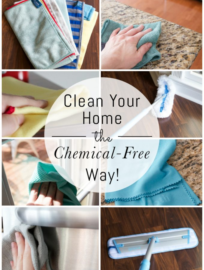 How to Clean Your Home the Chemical-Free Way