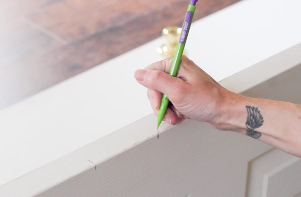 How to cut out notches for door hinges (the easy way!)