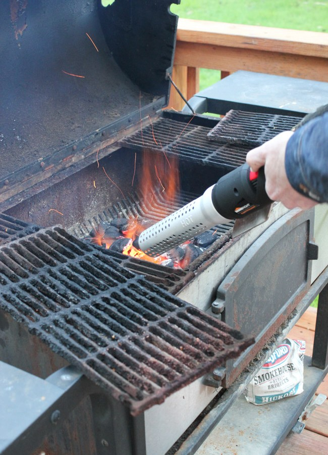 How to Light a Charcoal Grill Fast