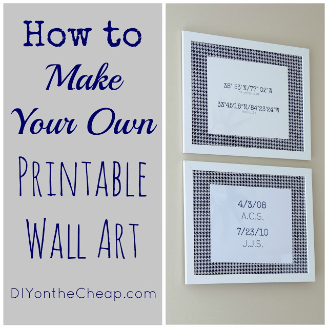 How To Make Your Own Printable Wall Art Erin Spain Home