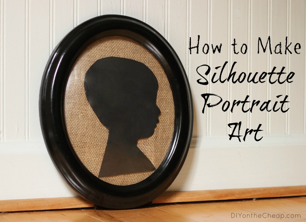 Tutorial: How to Make Silhouette Portrait Art
