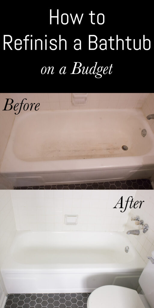 How to refinish a bathtub on a budget