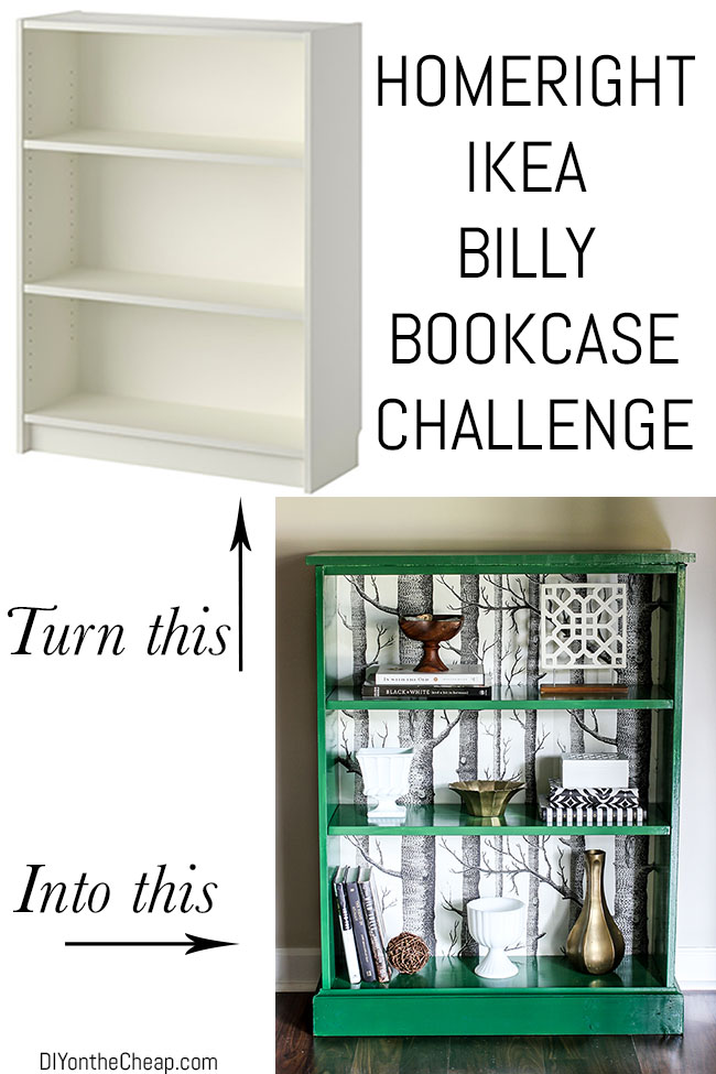 HomeRight Bookcase Challenge Entry by DIY on the Cheap